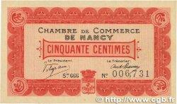 50 Centimes FRANCE régionalisme et divers NANCY 1916 JP.087.07 pr.NEUF