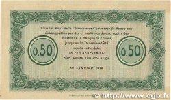 50 Centimes FRANCE régionalisme et divers NANCY 1916 JP.087.07 pr.SPL