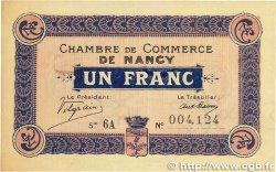 1 Franc FRANCE régionalisme et divers Nancy 1917 JP.087.13 SUP+
