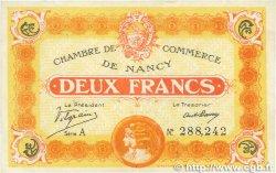 2 Francs FRANCE régionalisme et divers NANCY 1918 JP.087.25 TTB+
