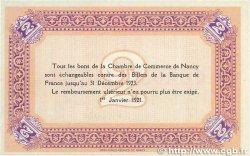 2 Francs FRANCE régionalisme et divers NANCY 1921 JP.087.52 pr.SPL