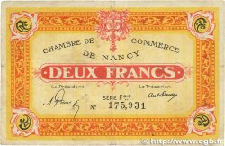 2 Francs FRANCE régionalisme et divers NANCY 1921 JP.087.52 pr.TTB