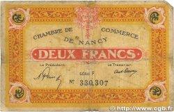 2 Francs FRANCE régionalisme et divers NANCY 1921 JP.087.52 B