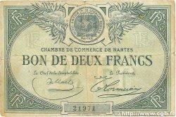 2 Francs FRANCE régionalisme et divers NANTES 1918 JP.088.02 TB