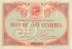 50 Centimes FRANCE régionalisme et divers NANTES 1918 JP.088.03 SUP+