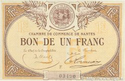 1 Franc FRANCE régionalisme et divers Nantes 1918 JP.088.05 SUP