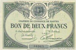 2 Francs FRANCE régionalisme et divers NANTES 1918 JP.088.10 SUP