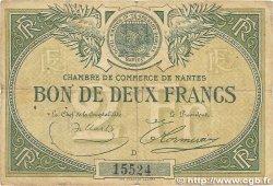 2 Francs FRANCE régionalisme et divers Nantes 1918 JP.088.12 B