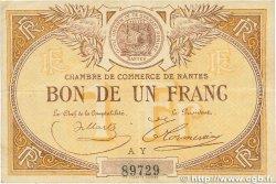 1 Franc FRANCE régionalisme et divers NANTES 1918 JP.088.14 TTB