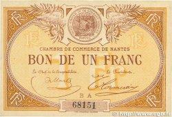 1 Franc FRANCE régionalisme et divers Nantes 1918 JP.088.15 TTB+
