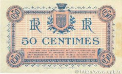50 Centimes FRANCE régionalisme et divers Narbonne 1917 JP.089.12 SUP+