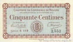 50 Centimes FRANCE régionalisme et divers Nevers 1915 JP.090.01 SUP