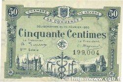 50 Centimes FRANCE régionalisme et divers NEVERS 1920 JP.090.16 TTB+