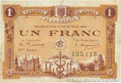 1 Franc FRANCE régionalisme et divers Nevers 1920 JP.090.17 TTB