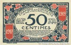 50 Centimes FRANCE régionalisme et divers Nice 1917 JP.091.04 SUP+