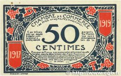 50 Centimes FRANCE régionalisme et divers NICE 1917 JP.091.04 SUP