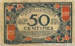 50 Centimes FRANCE régionalisme et divers NICE 1917 JP.091.04 TB