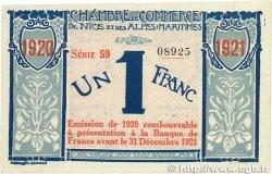 1 Franc FRANCE régionalisme et divers Nice 1917 JP.091.07 SUP