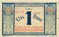 1 Franc FRANCE régionalisme et divers NICE 1917 JP.091.07 TTB