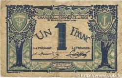 1 Franc FRANCE regionalismo e varie Nice 1917 JP.091.07 B