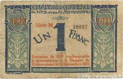 1 Franc FRANCE régionalisme et divers NICE 1917 JP.091.07 B