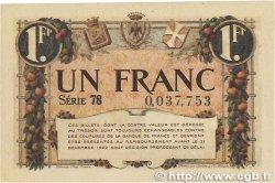1 Franc FRANCE régionalisme et divers Nice 1920 JP.091.11 TTB+