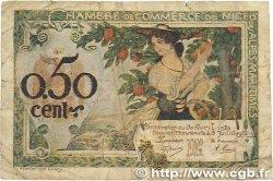 50 Centimes FRANCE régionalisme et divers NICE 1920 JP.091.14 B