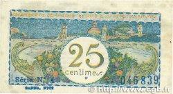 25 Centimes FRANCE régionalisme et divers Nice 1918 JP.091.16 TTB