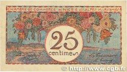 25 Centimes FRANCE régionalisme et divers Nice 1918 JP.091.19 SPL