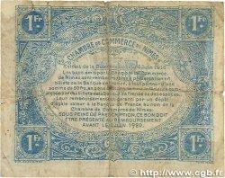 1 Franc FRANCE régionalisme et divers NÎMES 1915 JP.092.06 B