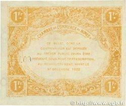 1 Franc FRANCE régionalisme et divers NÎMES 1917 JP.092.18var. TTB