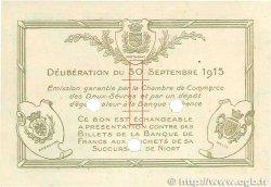 1 Franc FRANCE régionalisme et divers NIORT 1915 JP.093.05 SPL