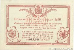 50 Centimes FRANCE régionalisme et divers  1916 JP.093.06var. SUP+