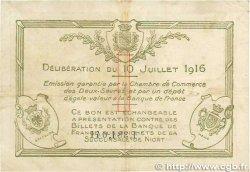 1 Franc FRANCE régionalisme et divers NIORT 1916 JP.093.08 TTB