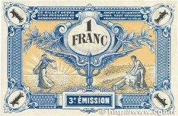 1 Franc FRANCE régionalisme et divers NIORT 1920 JP.093.11 SUP+