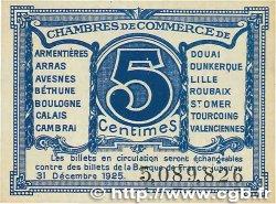 5 Centimes FRANCE régionalisme et divers Nord et Pas-De-Calais 1918 JP.094.01 SUP+