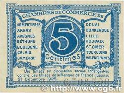 5 Centimes FRANCE régionalisme et divers Nord et Pas-De-Calais 1918 JP.094.01 TTB+