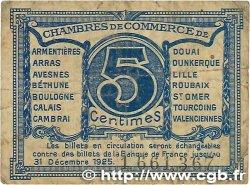 5 Centimes FRANCE régionalisme et divers NORD et PAS-DE-CALAIS 1918 JP.094.01 B
