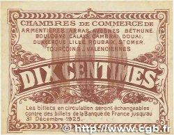 10 Centimes FRANCE régionalisme et divers Nord et Pas-De-Calais 1918 JP.094.02 SPL
