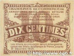 10 Centimes FRANCE régionalisme et divers Nord et Pas-De-Calais 1918 JP.094.02 TTB