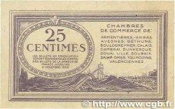 25 Centimes FRANCE régionalisme et divers Nord et Pas-De-Calais 1918 JP.094.03 pr.NEUF