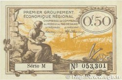 50 Centimes FRANCE régionalisme et divers Nord et Pas-De-Calais 1918 JP.094.04 NEUF