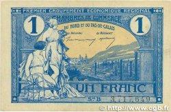 1 Franc FRANCE régionalisme et divers NORD et PAS-DE-CALAIS 1918 JP.094.05 SUP+