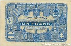 1 Franc FRANCE régionalisme et divers Nord et Pas-De-Calais 1918 JP.094.05 TTB+