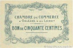 50 Centimes FRANCE régionalisme et divers Orléans 1914 JP.095.01 SUP