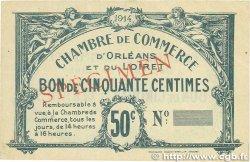 50 Centimes FRANCE régionalisme et divers ORLÉANS 1914 JP.095.01 TTB