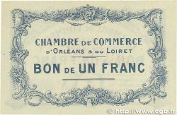 1 Franc FRANCE régionalisme et divers ORLÉANS 1914 JP.095.02 pr.SPL