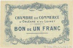 1 Franc FRANCE régionalisme et divers ORLÉANS 1914 JP.095.02 SUP