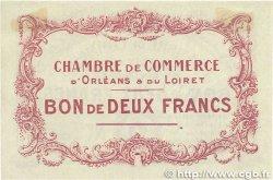 2 Francs FRANCE régionalisme et divers ORLÉANS 1914 JP.095.03 SUP