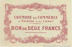 2 Francs FRANCE régionalisme et divers ORLÉANS 1914 JP.095.03 TTB+